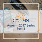 Autumn Series 2017 - Part 3