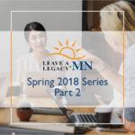 Spring Series 2018 - Part 2